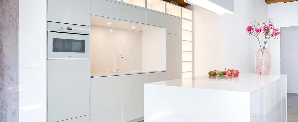Küche, gebaut von Studio 187, Frankfurt